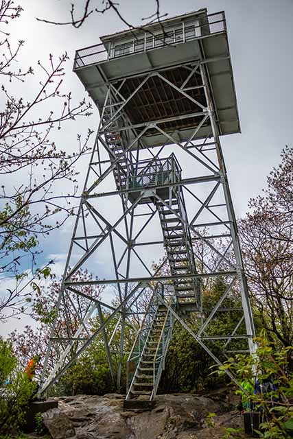 The Historic Albert Mountain Fire Tower