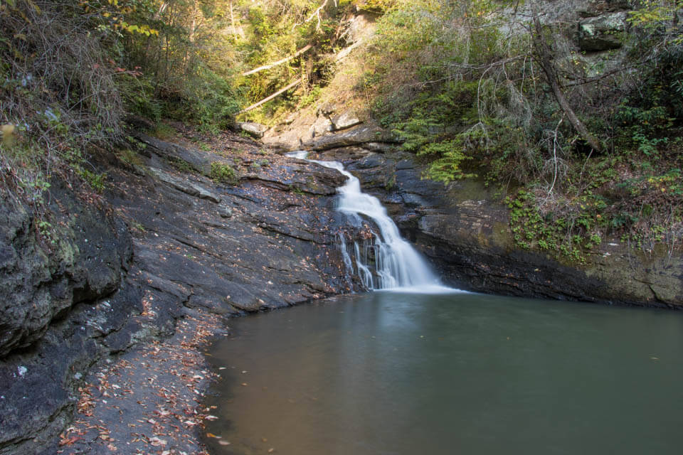 Blue Hole Falls with Swimming Hole