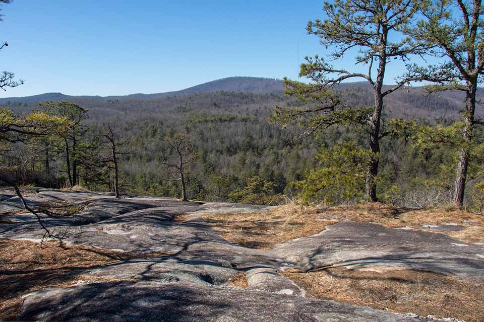 One of the Views from Cedar Rock Mountain