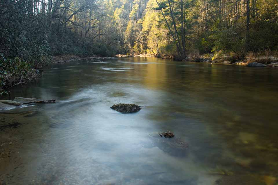 The Beautiful Chattooga River