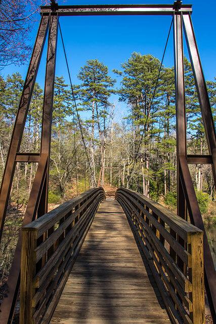 Chau Ram County Park Suspension Bridge