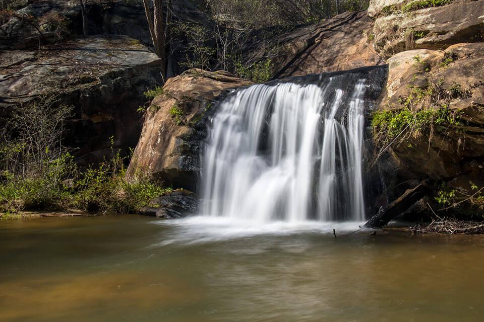 Cascade at Chau Ram Falls
