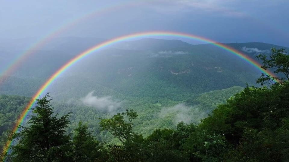 Full Rainbow at Chestoa View