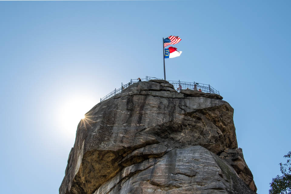 Beautiful Chimney Rock