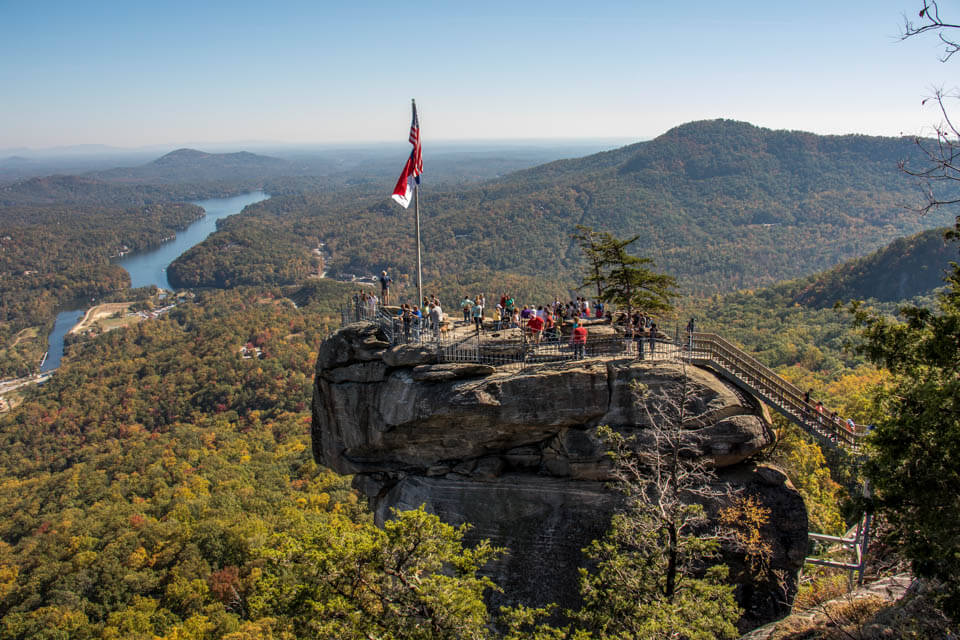 Autumn at Chimney Rock