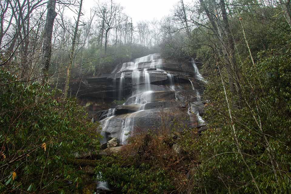Directly Below Daniel Ridge Falls