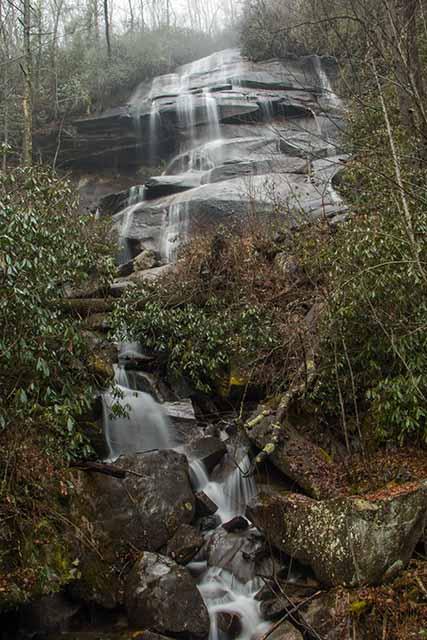 Daniel Ridge Falls from the Trail