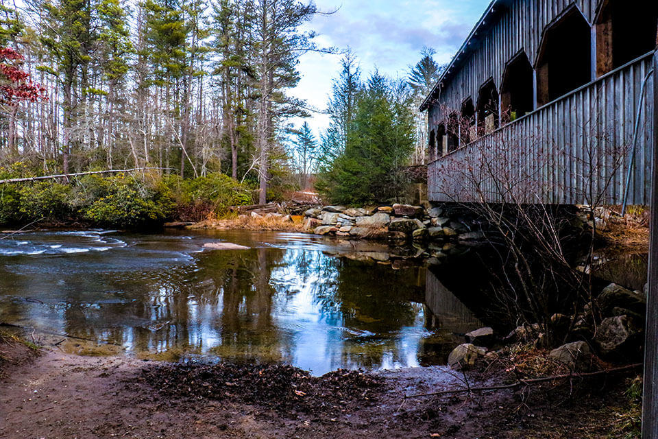 The Covered Bridge at DuPont State Forest