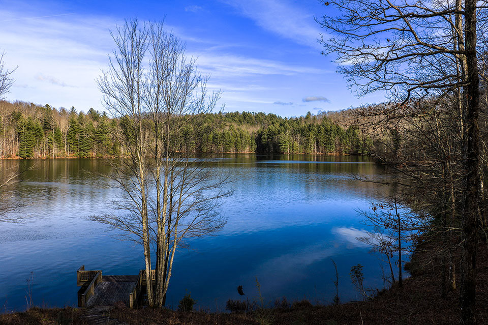 Lake Julia at DuPont State Forest