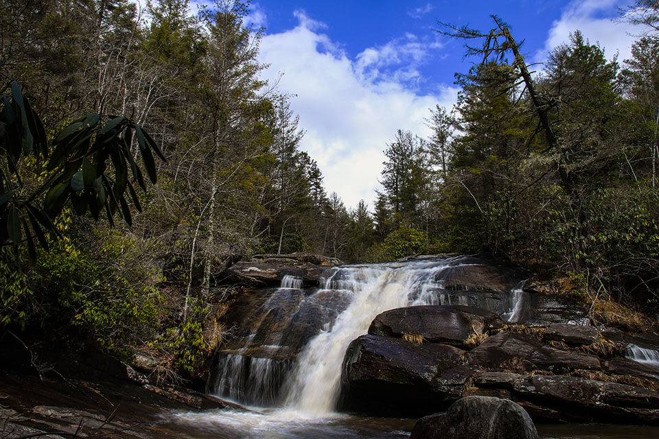 Wintergreen Falls at DuPont State Forest