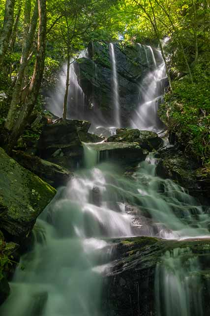 English Falls with Creek