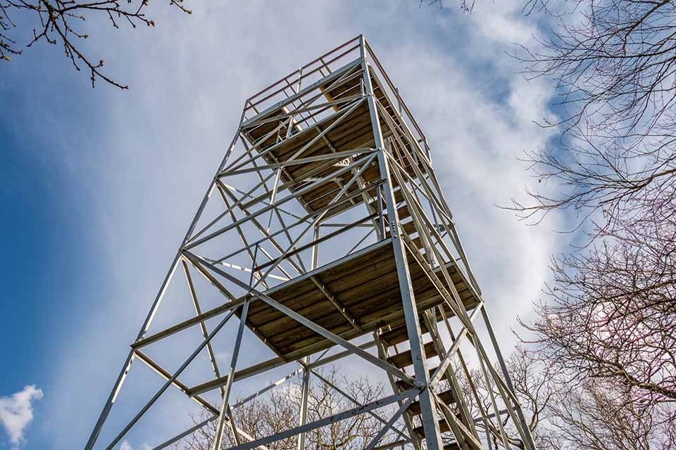 Flat Top Mountain Lookout Tower