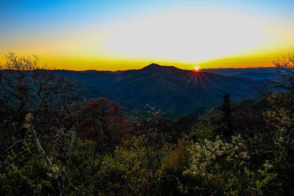 When the Sun kisses the Horizon
