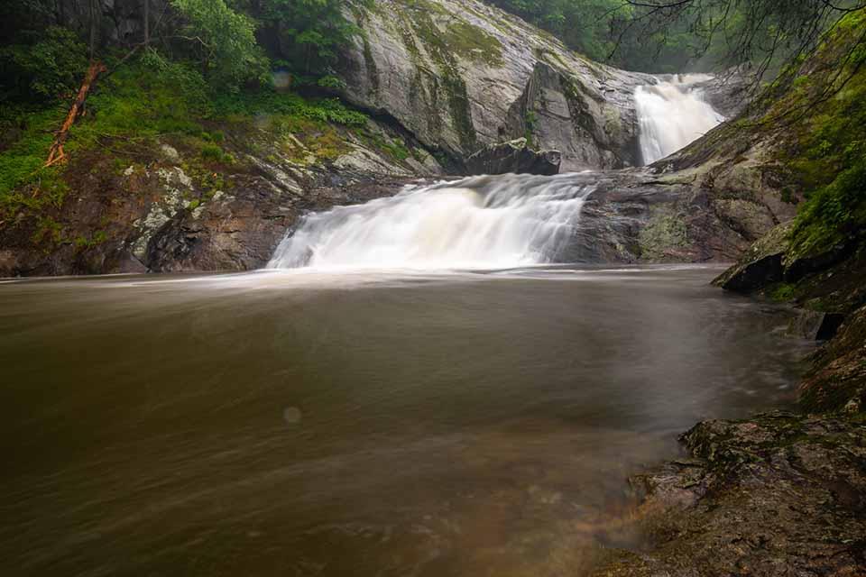 Creekside View of Harper Creek Falls