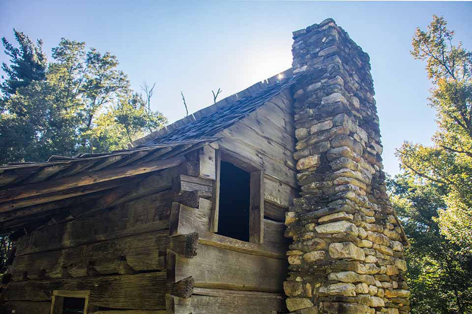 Jesse Brown's Cabin at Tompkins Knob