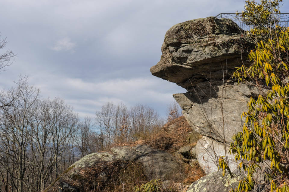 Jump Off Rock near Hendersonville, NC