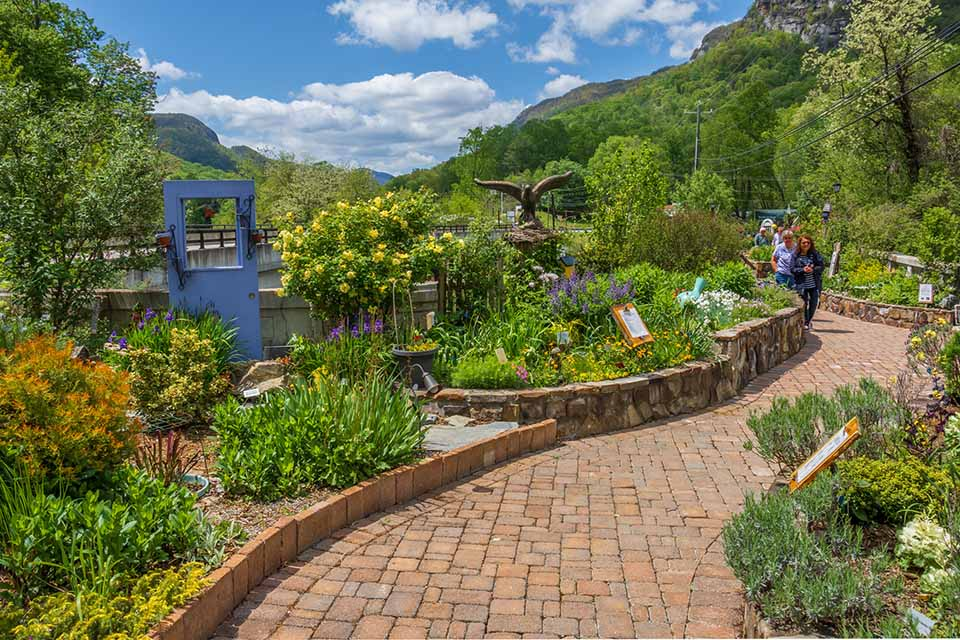 The Lake Lure Flowering Bridge