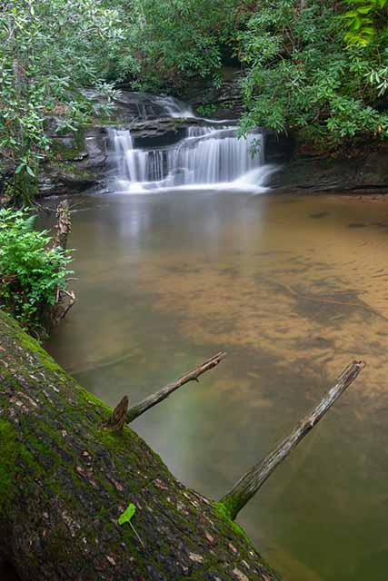 Last Falls on Slickum Creek