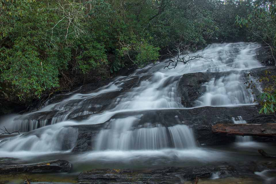 Bottom Cascade of Licklog Falls