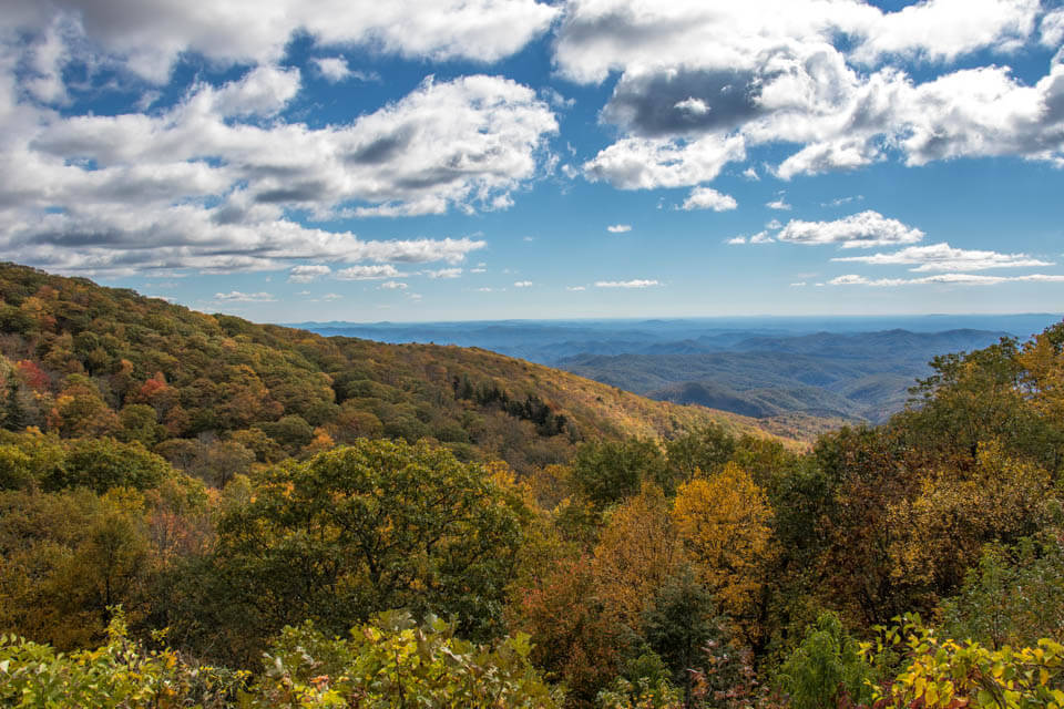 Autumn Along the Blue Ridge Parkway
