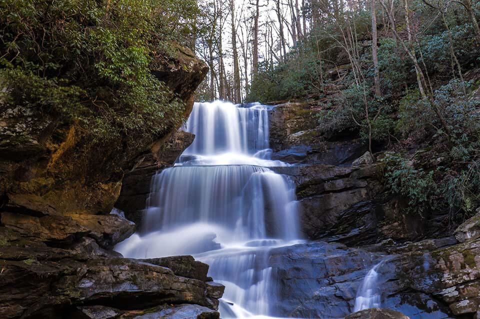 Beautiful Little Bradley Falls