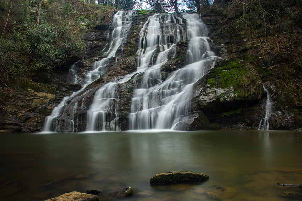 The Swimming Hole at Little Brasstown Falls
