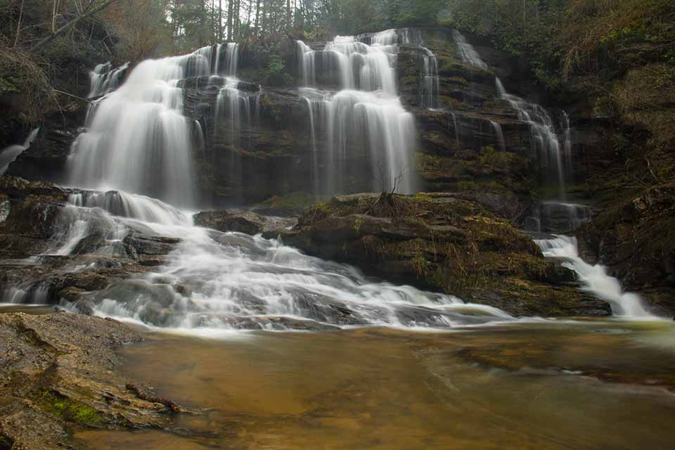 The Ever Flowing Long Creek Falls