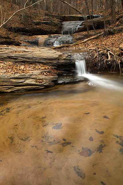 Meadow Falls in the Winter