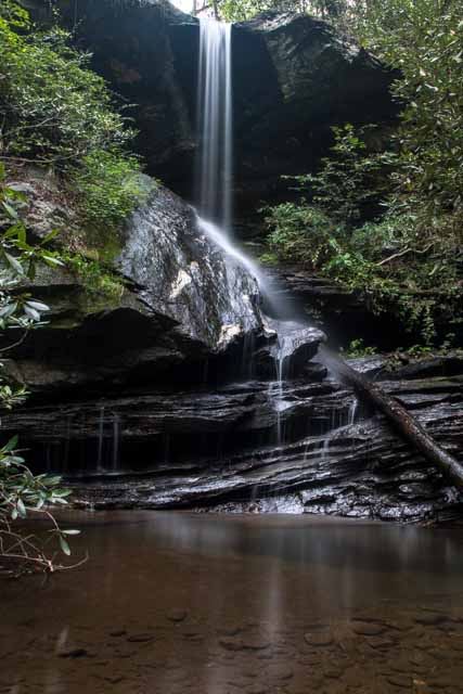 The Beautiful Moonshine Falls of South Carolina