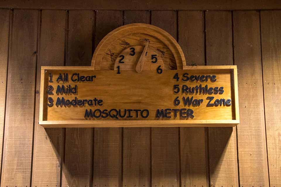 The Mosquito Meter at Congaree National Park