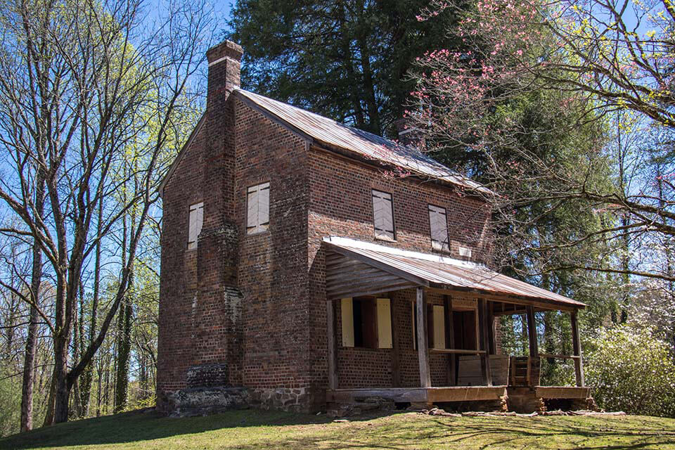 The William Richards House was built in 1805