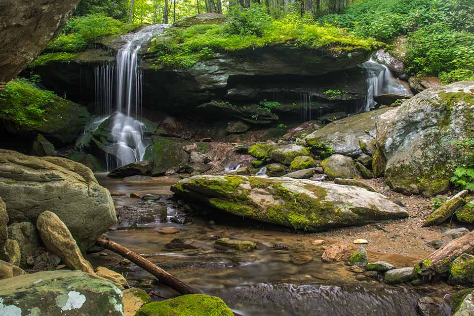 Otter Falls is a Special Place in the Forest