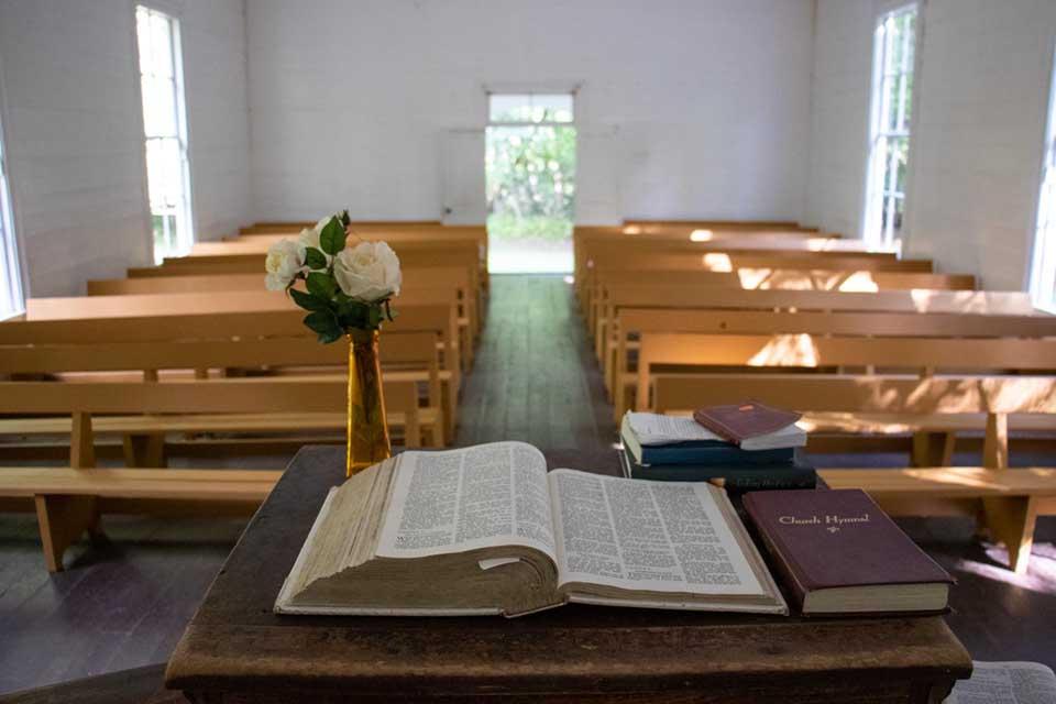 Inside Palmer Chapel