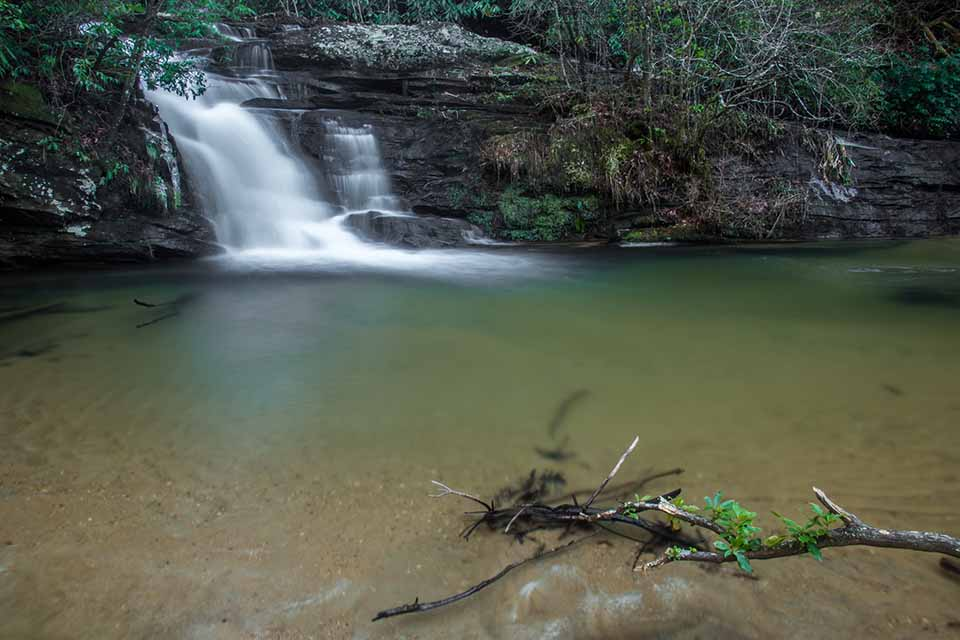 The Sandy Bottom Pool at Pigpen Falls