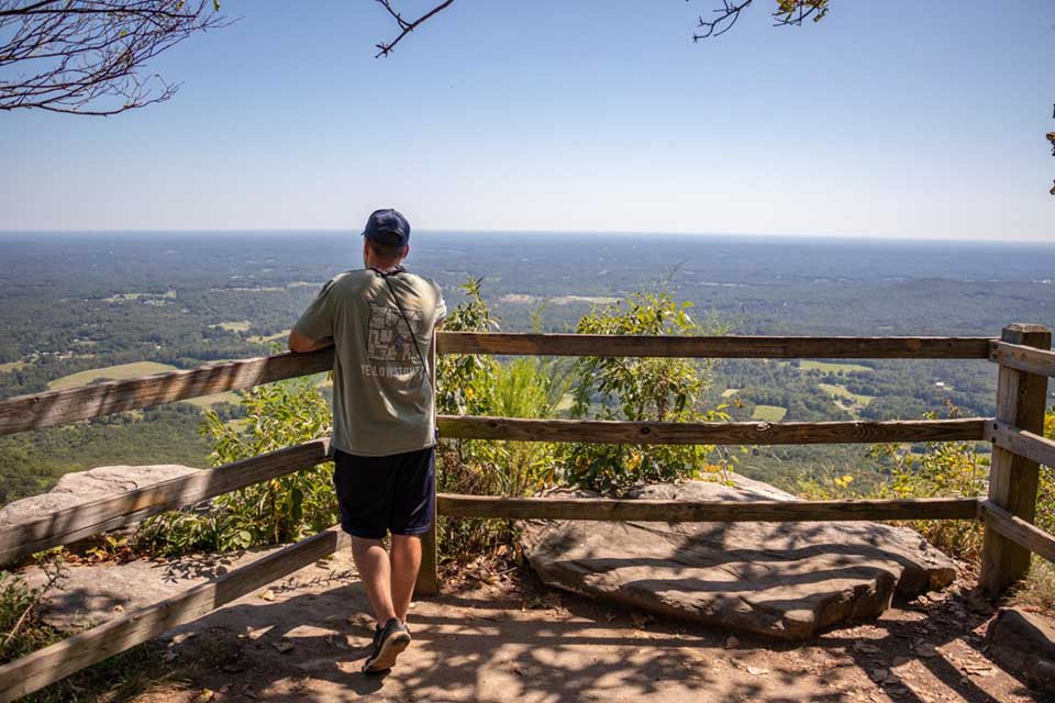Little Pinnacle Trail Overlook