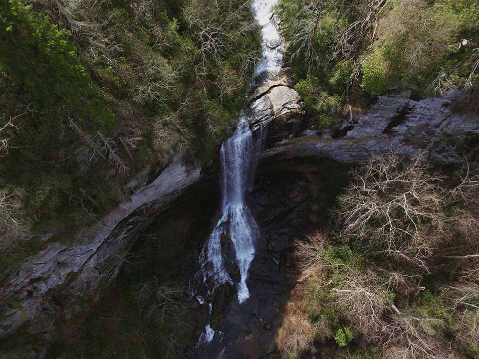 The Lower Section of Raven Cliff Falls