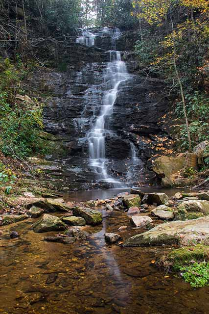 Reedy Branch Falls with Creek