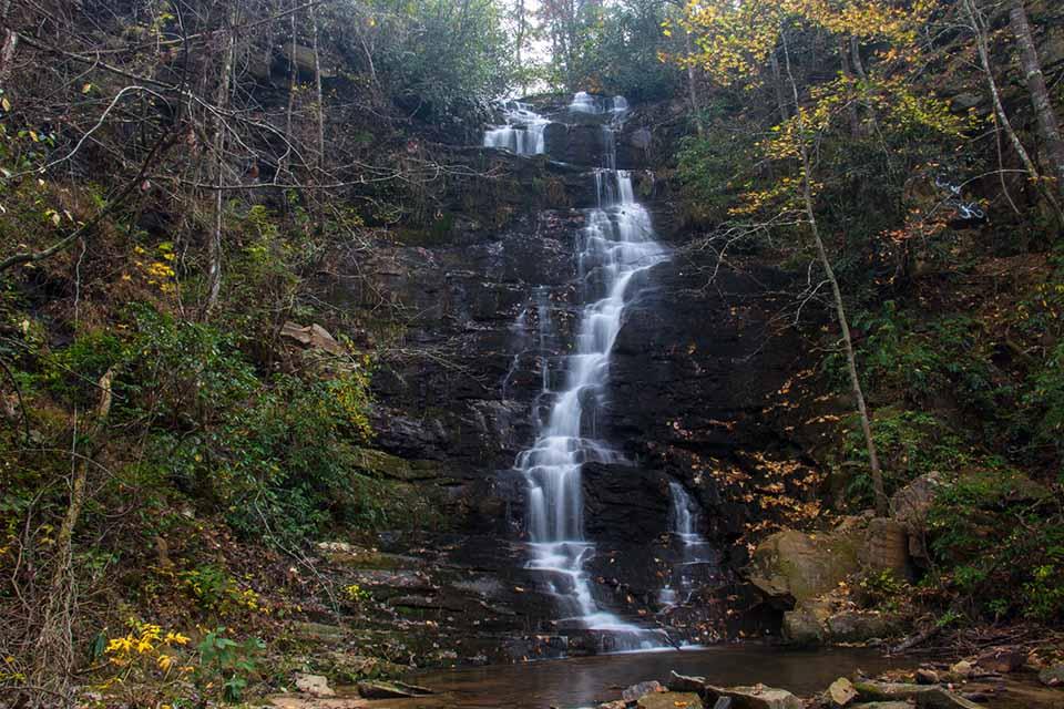 Reedy Branch Falls in Oconee County SC