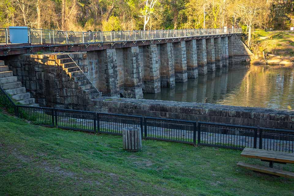 Riverfront Park Canal Dam