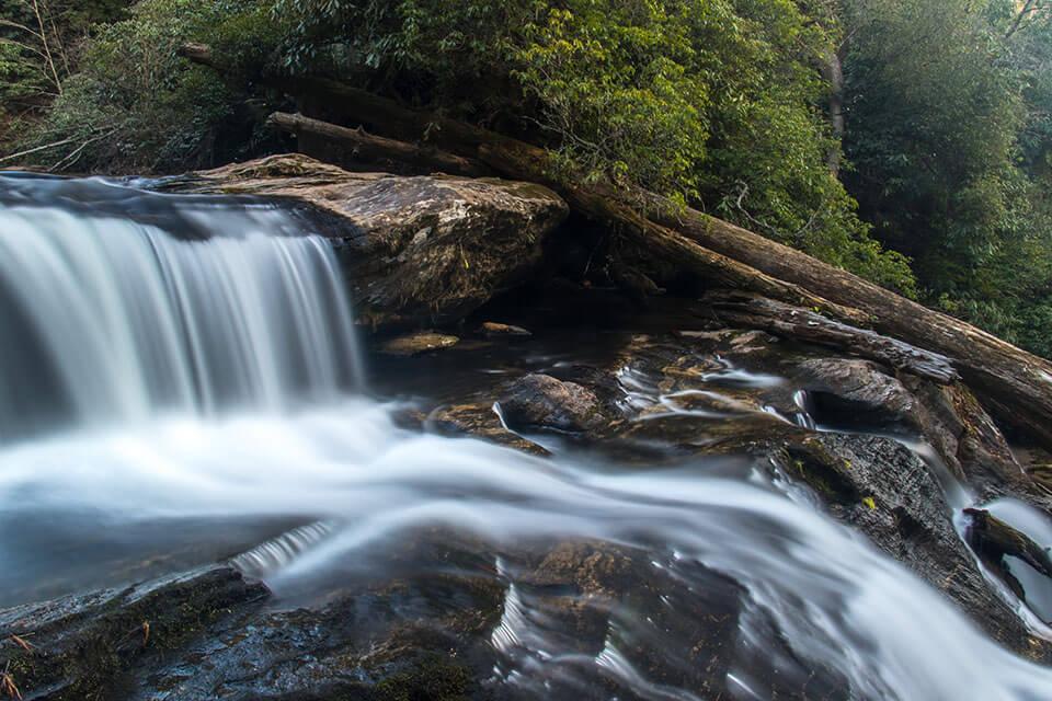 Cascades at Secret Falls