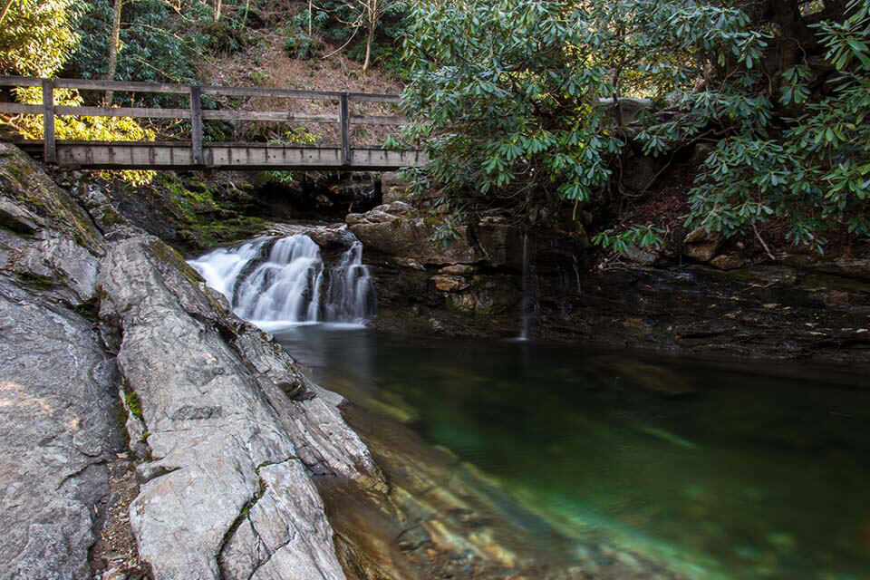 Swimming Hole at Skinny Dip Falls