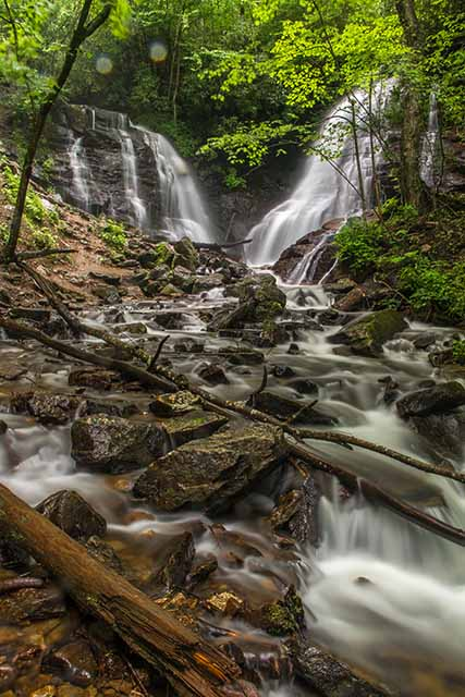 Soco Falls and Creek