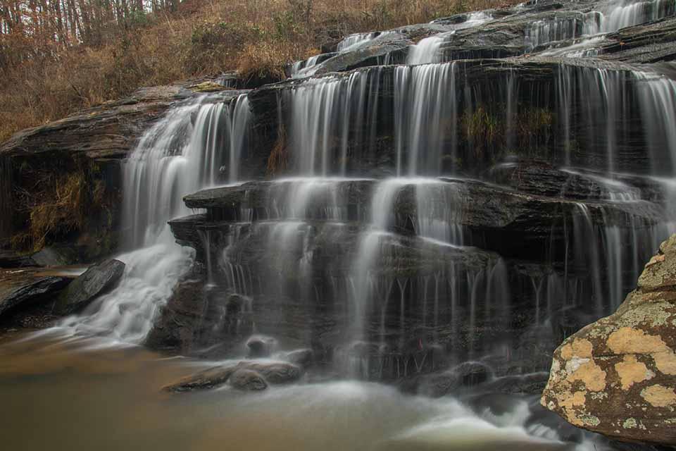 Todd Creek Falls of South Carolina
