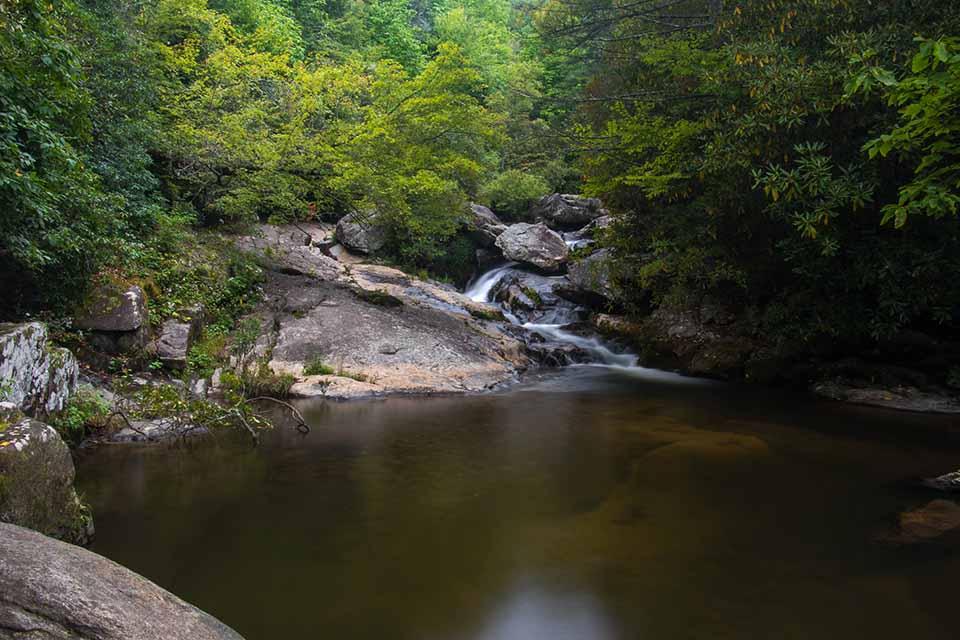 Cascade Above Upper Creek Falls