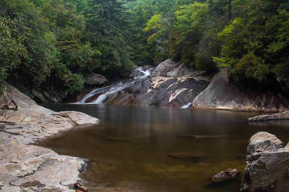 The Swimming Hole at Upper Creek Falls