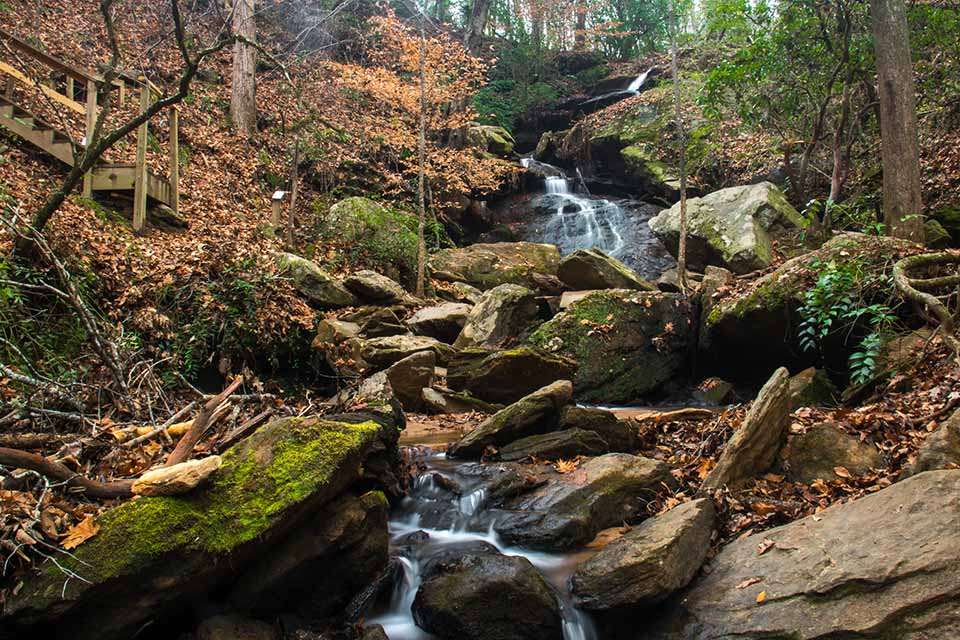 The Very Picturesque Waldrop Stone Falls