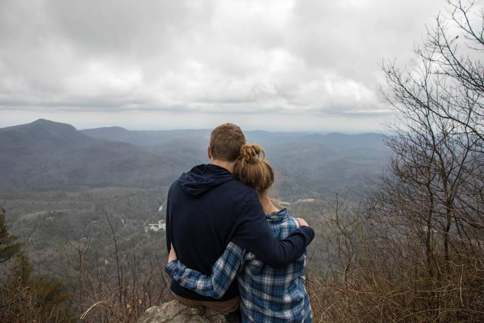 Enjoy the View at Whiteside Mountain