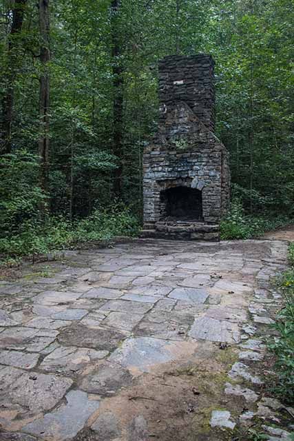 Old Picnic Shelter at Wildcat Wayside