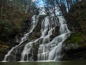 Little Brasstown Falls