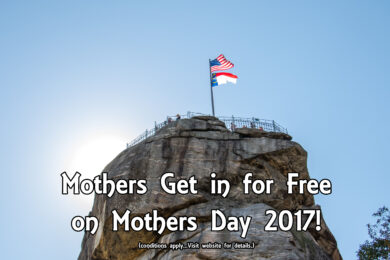 Mothers Get in for Free at Chimney Rock State Park